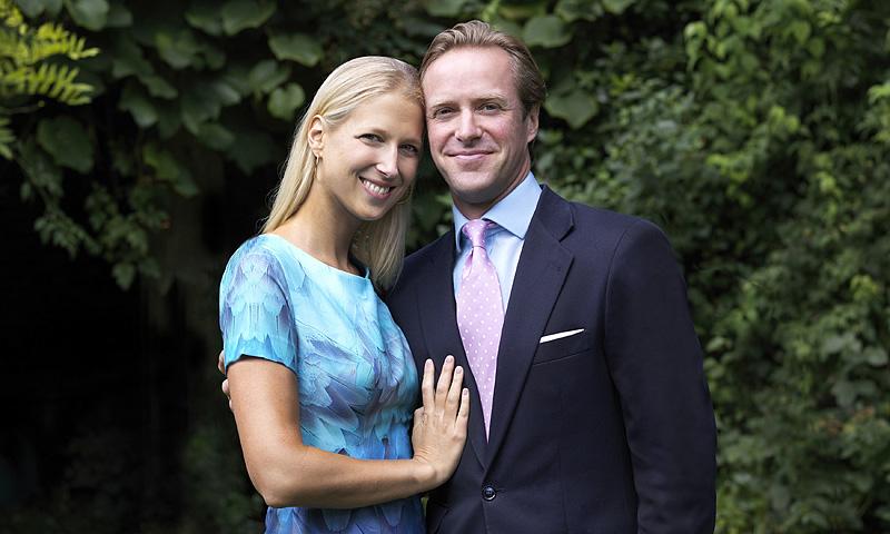 La foto oficial con la que Lady Gabriella Windsor anuncia su compromiso con Thomas Kingston