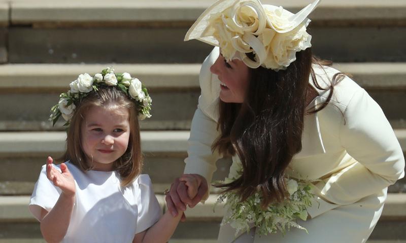 George y Charlotte de Cambridge, de nuevo protagonistas en una boda (y no es la de Eugenia de York)