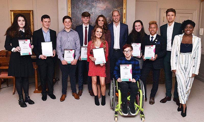 Los Duques de Cambridge organizan una recepción sorpresa en el Palacio de Kensington