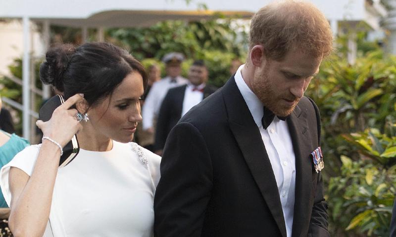 El homenaje oculto de Meghan Markle a los padres del príncipe Harry