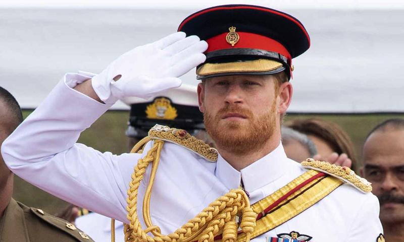 El príncipe Harry tiene nuevo trabajo (y la reina Isabel II será su jefa)