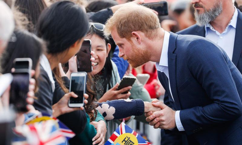 Las sentidas palabras del príncipe Harry a un niño que perdió a su madre