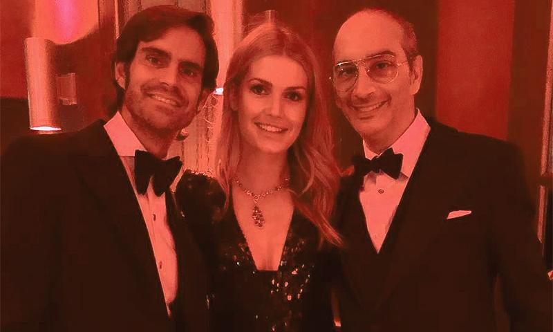 ¿Qué hacía Lady Kitty Spencer, sobrina de Lady Di, en el cumpleaños de Luis García Fraile en Madrid?