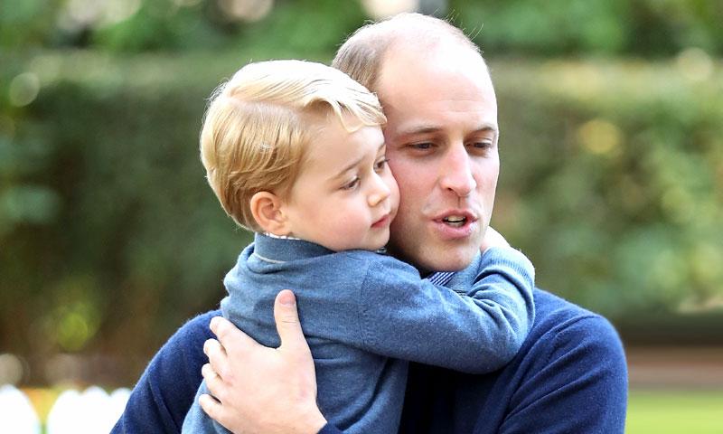 ¿Cómo llama el príncipe George a su padre, el príncipe Guillermo? La dulce respuesta no es 'papá'