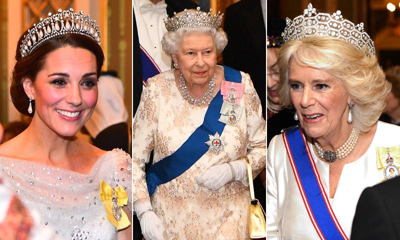 FOTOGALERÍA: Espectacular gala en el Palacio de Buckingham antes de Navidad