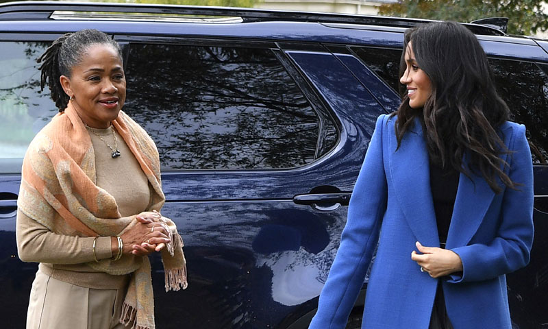 Un reencuentro fallido: la madre de Meghan no pasará la Navidad con los Windsor