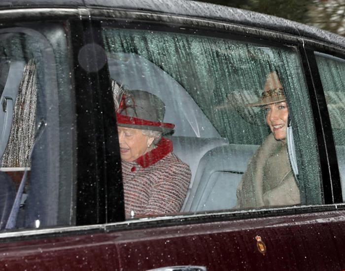 Isabel II y la Condesa de Wessex