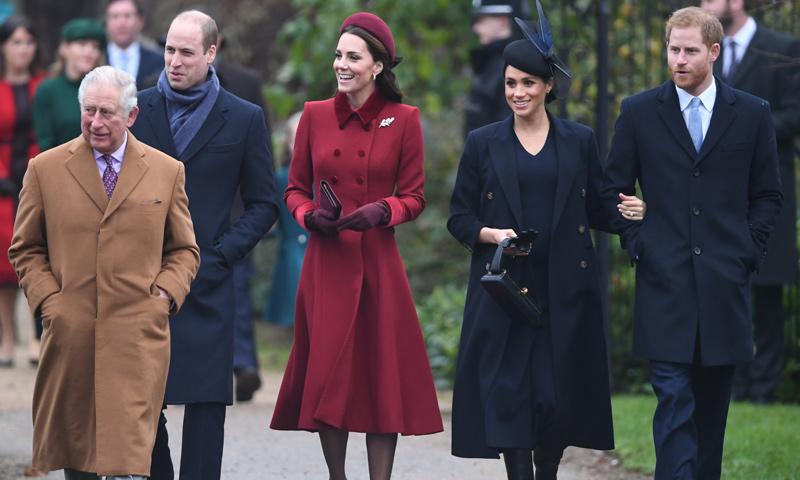 Viajar con un traje negro, volar por separado... las estrictas reglas de la Familia Real británica