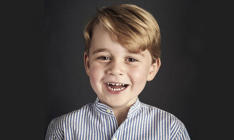 La última 'travesura' del príncipe George: ¡se ha cambiado el nombre!