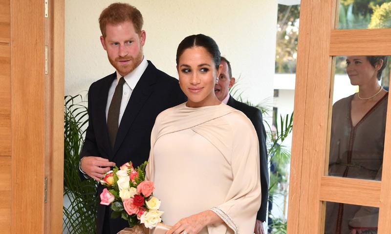 La duquesa de Sussex brilla en la recepción oficial ofrecida por el embajador británico en Rabat