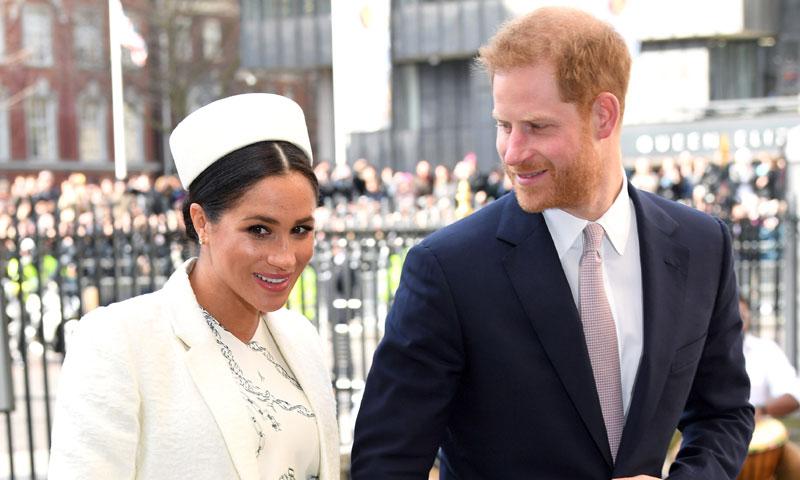 La reina Isabel II pone freno al último proyecto de los duques de Sussex