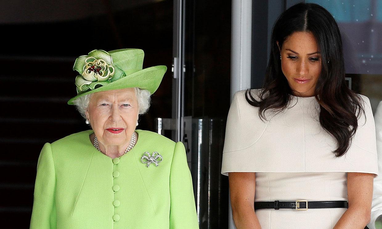 La norma a la hora de dormir que debe seguir Meghan Markle cuando acompaña a la reina Isabel II