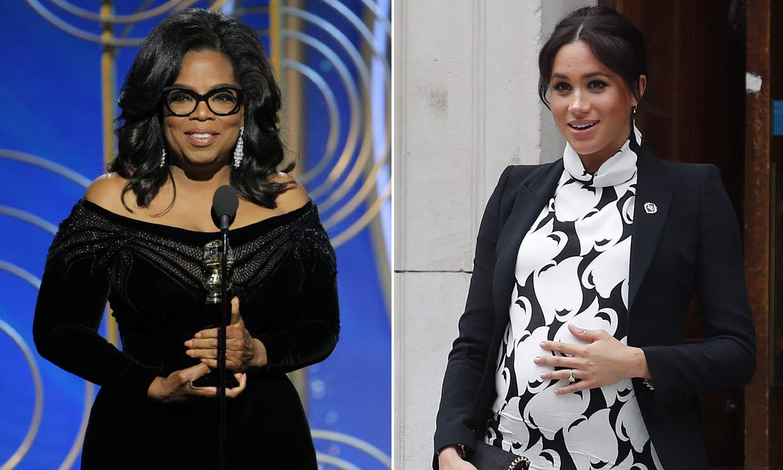 Oprah Winfrey sale en defensa de su amiga Meghan Markle