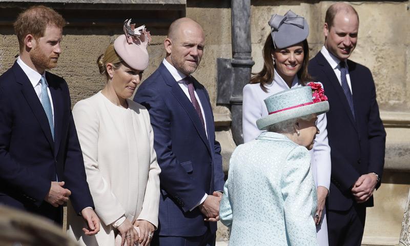El príncipe Harry se une al cumpleaños de su abuela antes del nacimiento de su primer hijo