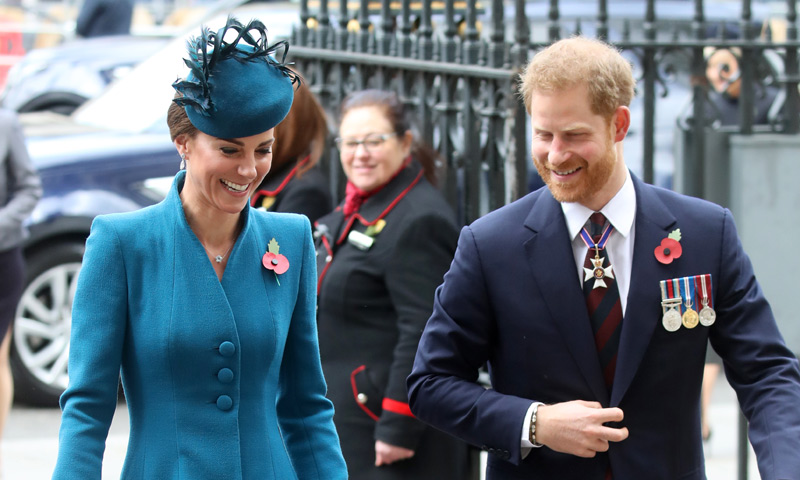 El príncipe Harry da la sorpresa y acompaña a su cuñada a un acto justo antes de ser papá