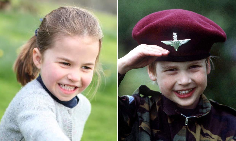 El impresionante parecido de Charlotte de Cambridge con su padre, el príncipe Guillermo