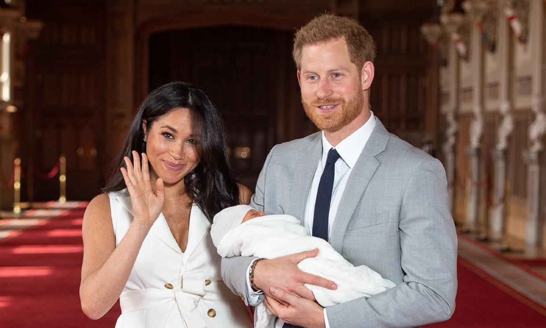 Archie Harrison: así se llama el primer hijo del príncipe Hary y Meghan