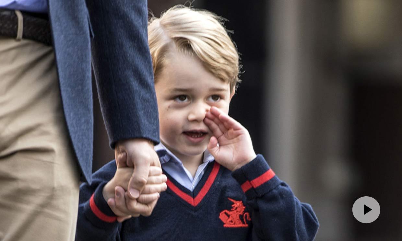 La pista sobre el nombre de Archie que el príncipe George dio hace meses