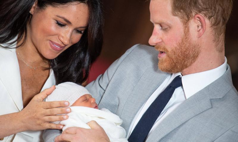 Los duques de Sussex comparten una nueva y adorable foto del pequeño Archie
