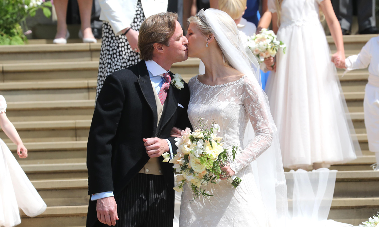 La boda real de Lady Gabriella y Thomas Kingston