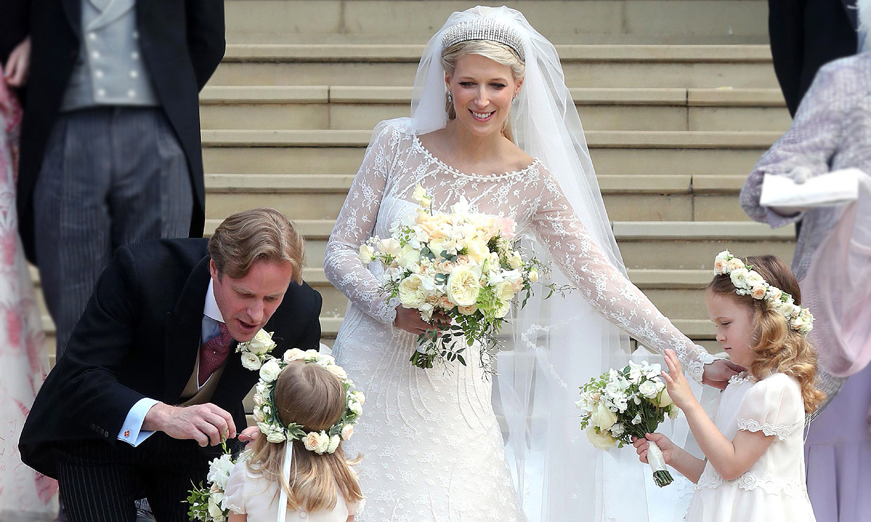 Lo que más nos ha llamado la atención de la boda de Lady Gabriella Windsor