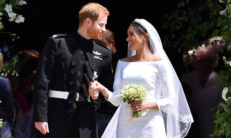 Los duques de Sussex abren su álbum inédito en su primer aniversario de boda