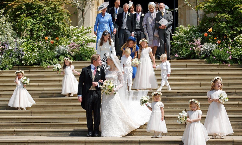 La boda de Lady Gabriella Windsor desde dentro: así la han vivido los invitados