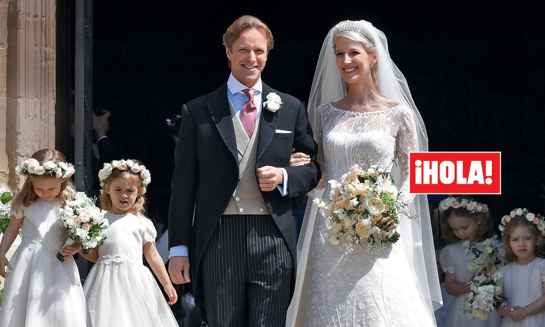 En ¡HOLA!, la espectacular boda de Lady Gabriella, en el Castillo de Windsor