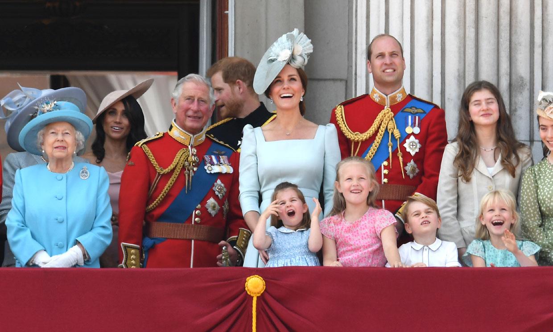 'Trooping the Colour', el desfile que reúne cada año a la Familia Real británica