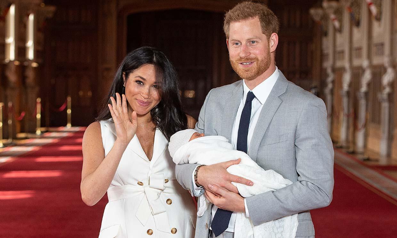 Archie, el hijo de los duques de Sussex, podría conseguir su primer 'título' con solo cinco meses
