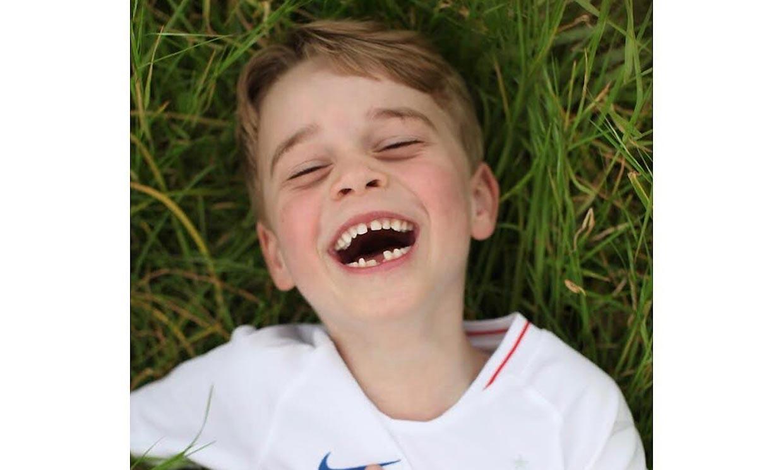 Divertido, travieso... el príncipe George celebra su sexto cumpleaños con estas simpáticas imágenes