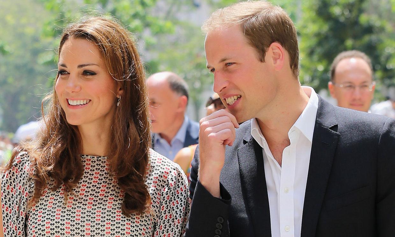 Los Duques de Cambridge, espectadores de excepción de Rosalía
