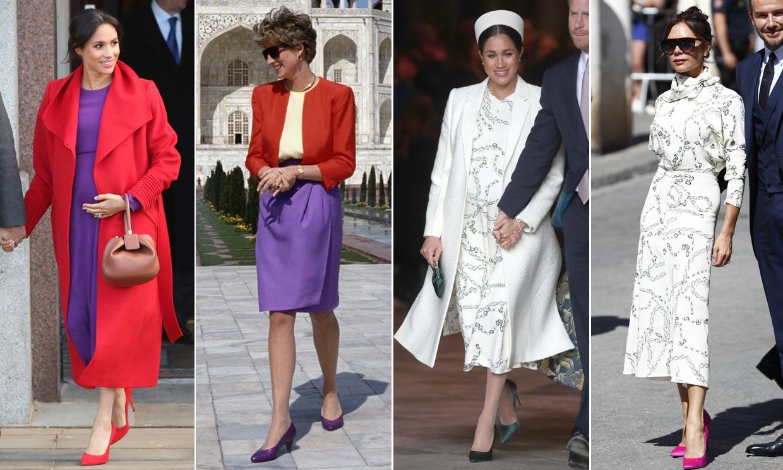 De Amal Clooney a la princesa Diana, los iconos de moda que comparten estilo con Meghan Markle