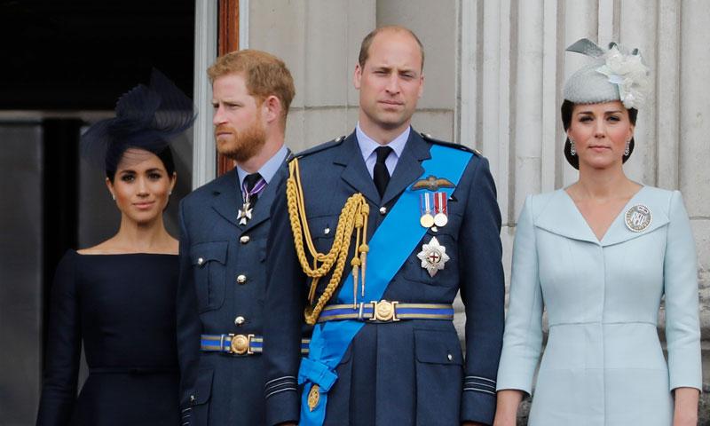 Los duques de Cambridge eliminan oficialmente a los duques de Sussex de su fundación