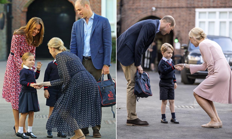 Los gestos de la princesa Charlotte que nos recuerdan al primer día de cole de su hermano George