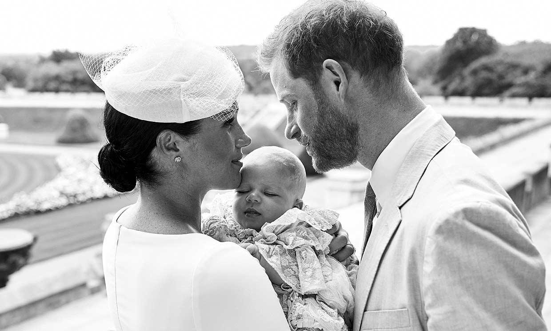 Meghan Markle felicita al príncipe Harry con el mensaje más romántico y ¡una nueva foto de Archie!