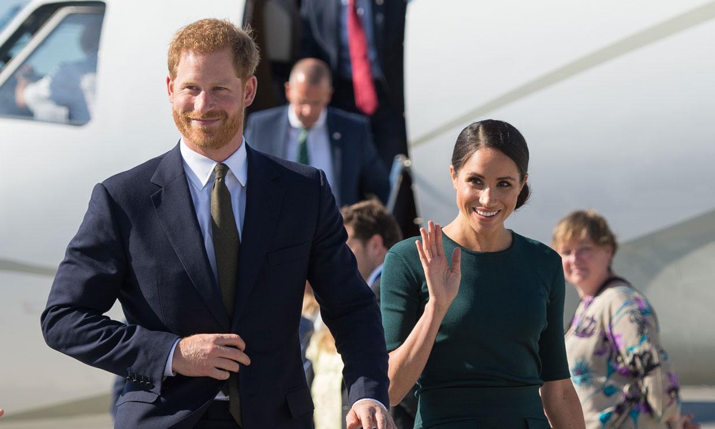 Los duques de Sussex ya están en Roma para la gran boda de este fin de semana