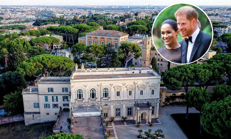Así es Villa Aurelia, el espectacular escenario de la 'boda romana' a la que acuden el príncipe Harry y Meghan Markle