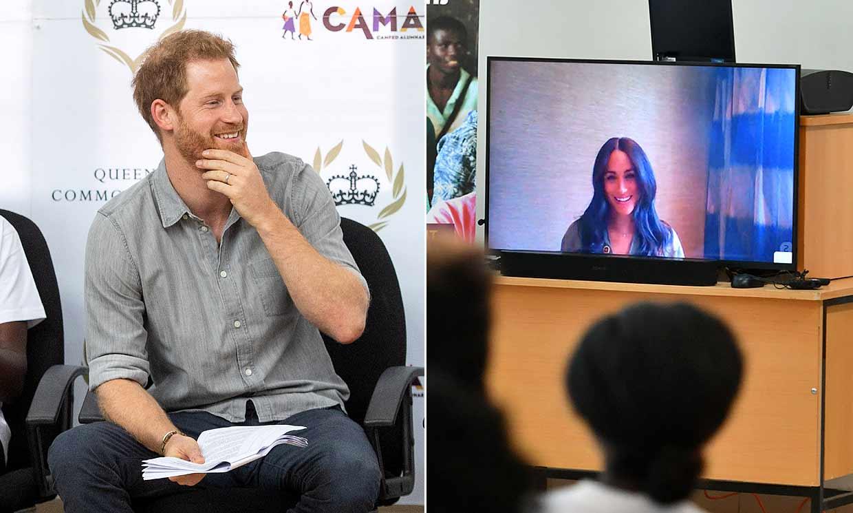 De Sudáfrica a Malawi: la sorprendente conexión del príncipe Harry con Meghan Markle