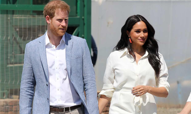 Los duques de Sussex reaparecen juntos en el último día de su viaje por África