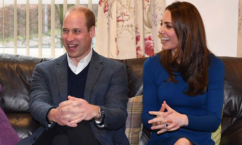 La reunión secreta de los duques de Cambridge en el Palacio de Kensington