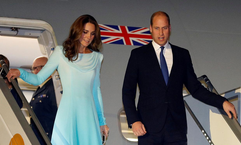 El 'guiño pakistaní' de la duquesa de Cambridge a su llegada a Islamabad