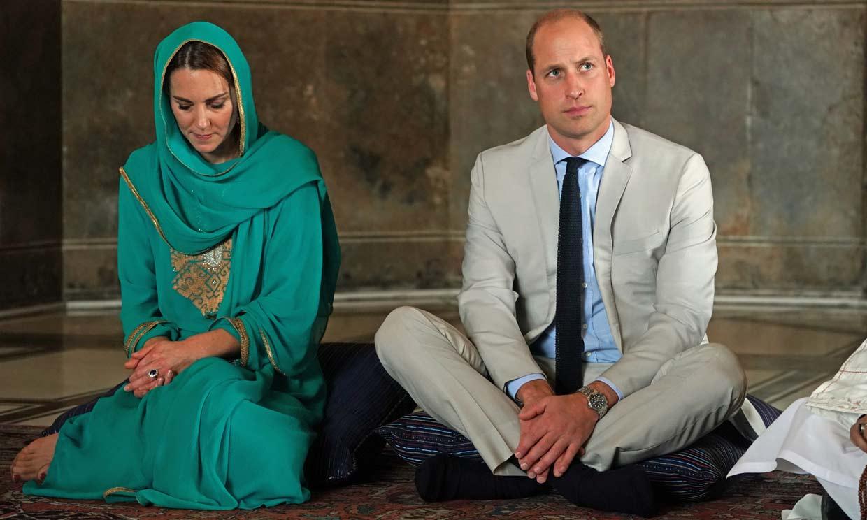 Los duques de Cambridge, como en 'Las mil y una noches' en la recta final de su viaje por Pakistán