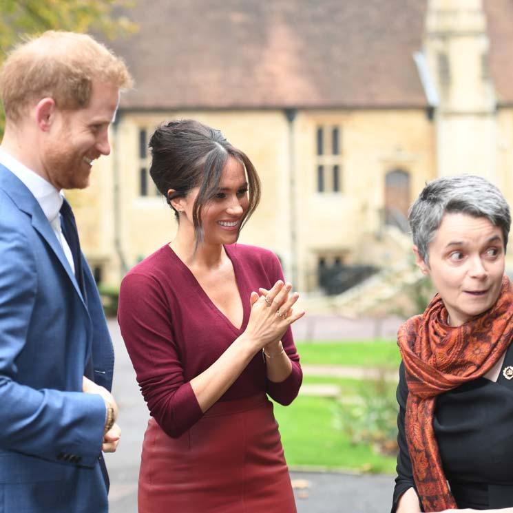 La aparición sorpresa de Harry en un acto con Meghan en medio de la polémica