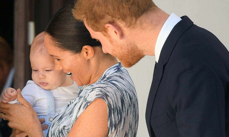 Los Duques de Sussex y su 'pequeña calabaza' Archie