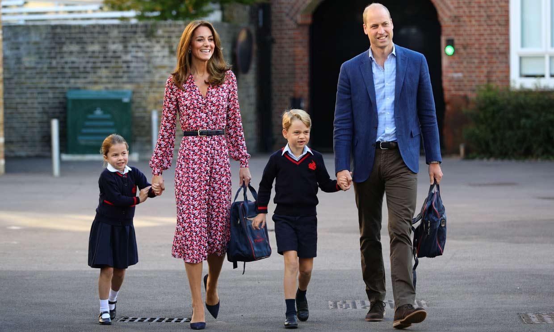 Los duques de Cambridge y sus hijos, de puente antes de encarar una intensa semana