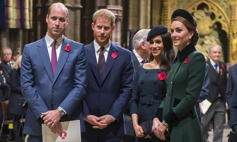 La reina Isabel II apoya la decisión de Harry y Meghan