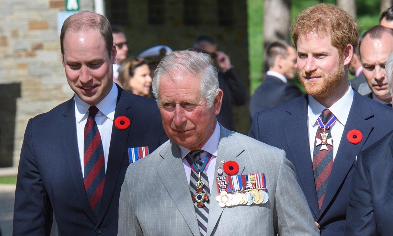 El príncipe Harry evita mencionar de forma expresa a su padre y su hermano en su discurso más personal