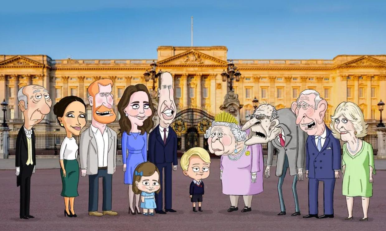 A la Familia Real británica le crecen las series: ahora es protagonista de unos dibujos animados