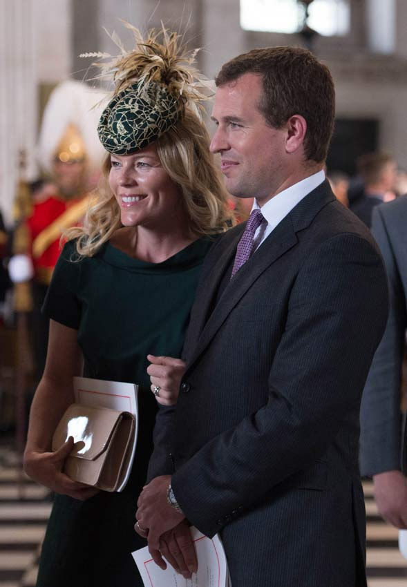 Peter Phillips y Autumn Phillips